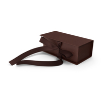 Box Bow Relief Brown PNG & PSD Images