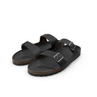 Sandals Black PNG & PSD Images