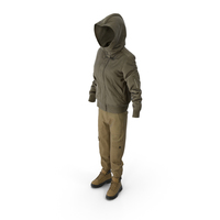 Women's Boots Pants Down Jacket Pullover PNG & PSD Images