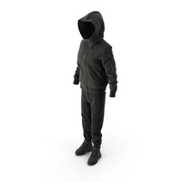 Women's Boots Pants Down Jacket Pullover Black PNG & PSD Images