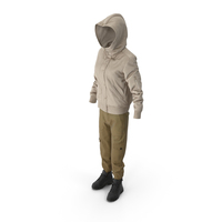 Women's Boots Pants Down Jacket Pullover Mix PNG & PSD Images