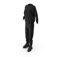 Women's Boots Pants Pullover Black PNG & PSD Images