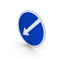 Road Sign Keep Left PNG & PSD Images