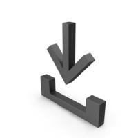 Symbol Download Black PNG & PSD Images