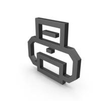 Symbol Printer Black PNG & PSD Images