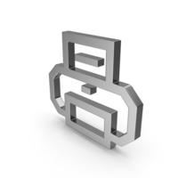 Symbol Printer Steel PNG & PSD Images