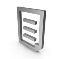 Symbol Document File Steel PNG & PSD Images