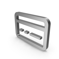 Symbol Bank Card Steel PNG & PSD Images