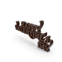 Happy Valentine's Day Chocolate PNG & PSD Images