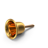 Gold Hand Bell PNG & PSD Images