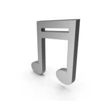 Symbol Music Note Steel PNG & PSD Images