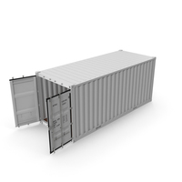 ISO 20 Feet Container PNG & PSD Images