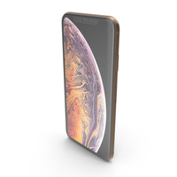 iPhone XS Max Gold PNG & PSD Images
