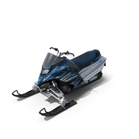 Snowmobile Yamaha Nytro FX PNG & PSD Images