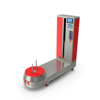 Fatek Airport Luggage Suitcase Wrapping Machine PNG & PSD Images