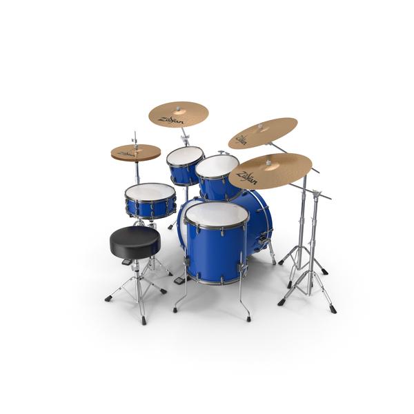 Acoustic Drum Kit PNG & PSD Images