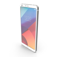 LG G6 Mystic White PNG & PSD Images