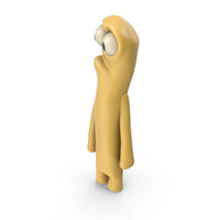 Yellow Plastic Guy PNG & PSD Images