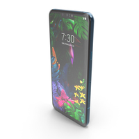 LG G8 ThinQ New Moroccan Blue PNG & PSD Images