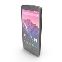 LG Google Nexus 5 Black PNG & PSD Images