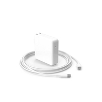 Apple 61W Type C Power Adapter with Cable PNG & PSD Images