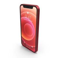 Apple iPhone 12 mini Product RED PNG & PSD Images