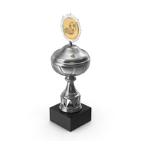 Award Soccer Trophy Cup Silver PNG & PSD Images