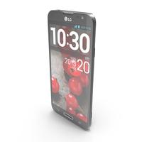 LG Optimus G Pro E985 Black PNG & PSD Images