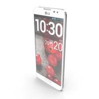 LG Optimus G Pro E985 White PNG & PSD Images