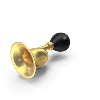 Brass Taxi Horn PNG & PSD Images