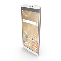 LG V10 Luxe White PNG & PSD Images