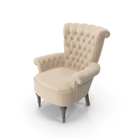 Giusti Portos Regina Leather Chair PNG & PSD Images