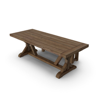 PB Wells Extending Dining Table & Bench PNG & PSD Images