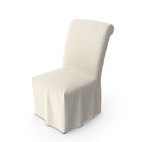 Pottery Barn Comfort Slipcovered Chair PNG & PSD Images