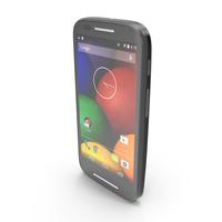 Motorola Moto E & E Dual Black PNG & PSD Images