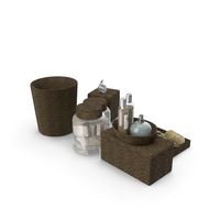 Pottery Barn Tava Bath Accessories PNG & PSD Images