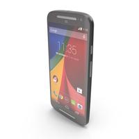 Motorola Moto G 2014 & G 2014 Dual SIM Black PNG & PSD Images