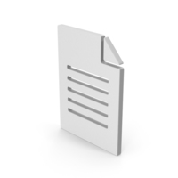Symbol Office Paper PNG & PSD Images