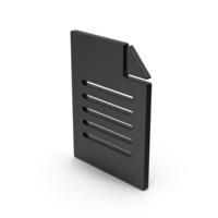 Black Symbol Office Paper PNG & PSD Images