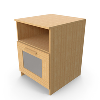 Bedside Table PNG & PSD Images