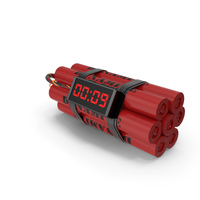Dynamite Time Bomb PNG & PSD Images