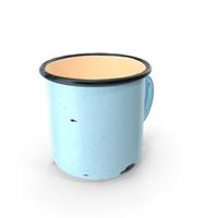 Enamel Mug Old PNG & PSD Images