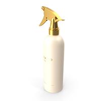 Gold Trigger Sprayer Bottle PNG & PSD Images