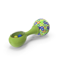 Green Baby Rattle Generic PNG & PSD Images