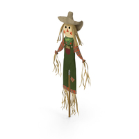 Harvest Scarecrow PNG & PSD Images
