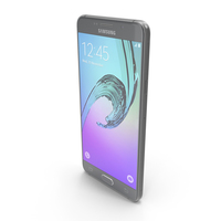 Samsung Galaxy A5 2016 Black PNG & PSD Images