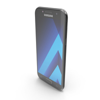Samsung Galaxy A5 2017 Black Sky PNG & PSD Images