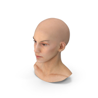 Athena Human Head Neutral PNG & PSD Images