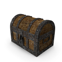 Wooden Treasure Chest PNG & PSD Images