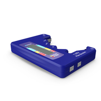 Battery Tester Blue PNG & PSD Images